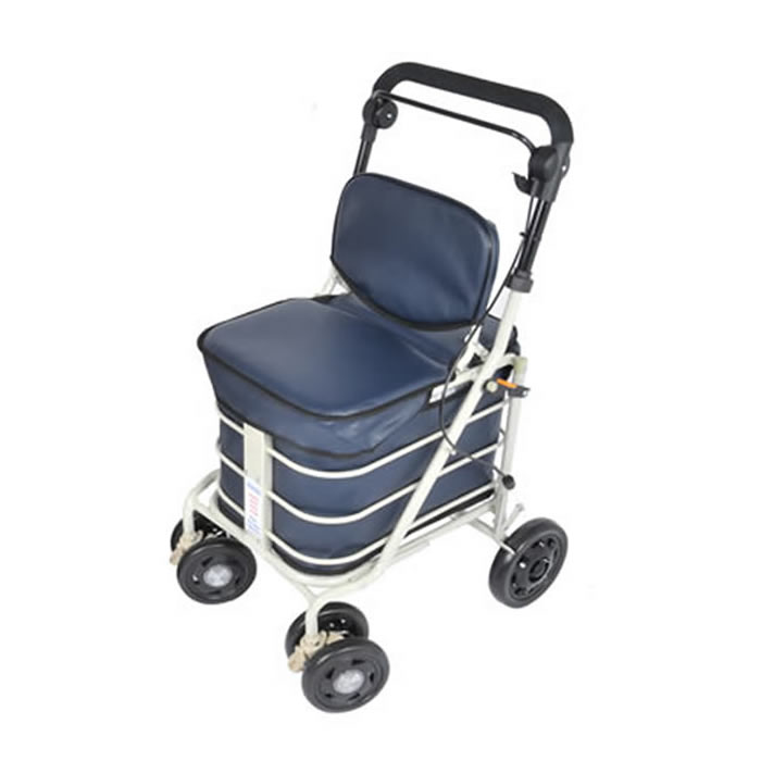 The Backrest Seat Shopper - Navy