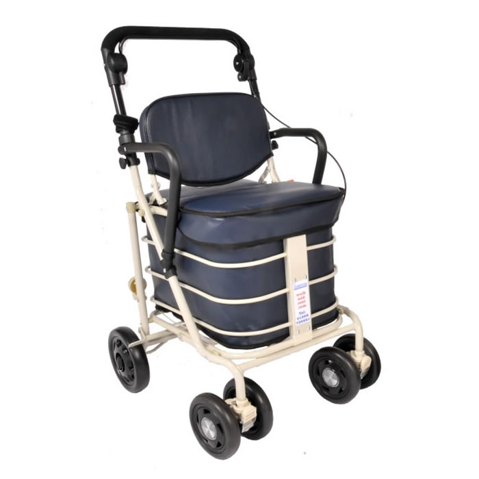 The NEW Backrest Shopper with Armrest - Navy