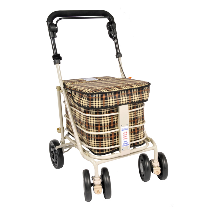 The Standard Seat Shopper - Brown Tartan
